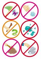 Знаки что нельзя делать в лесу запрещающие знаки картинки для детей
