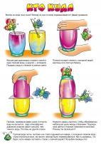 Опыты с водой в картинках