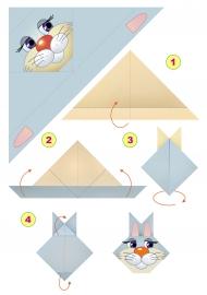 дикие звери оригами