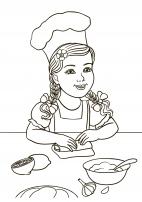 как познакомить дошкольников с трудом повара