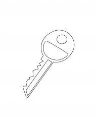 Ключики раскраска