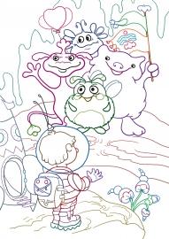 Инопланетяне. Раскраска для детей — скачать и распечатать ...