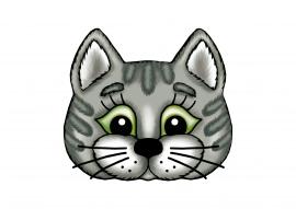 Маски для детей кота
