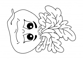 репка раскраска маска на голову скачать и распечатать