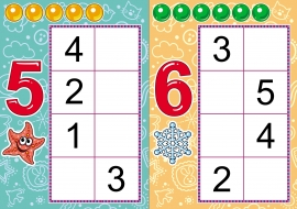 Игра на закрепление знания состава числа из двух меньших
