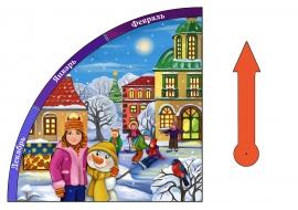 Картинки зимы для уголка природы по месяцам