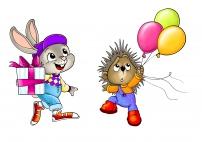 Цветные картинки на день рождения