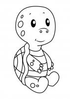 Картинка свинья раскраска для детей
