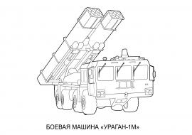 раскраска военной боевой машины скачать и распечатать