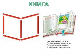 Счетные палочки. Схема книги