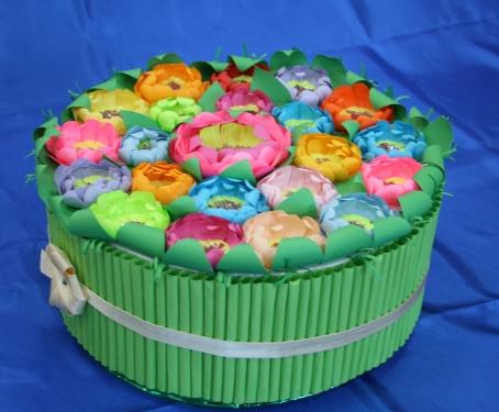 Поделки из коробок от торта