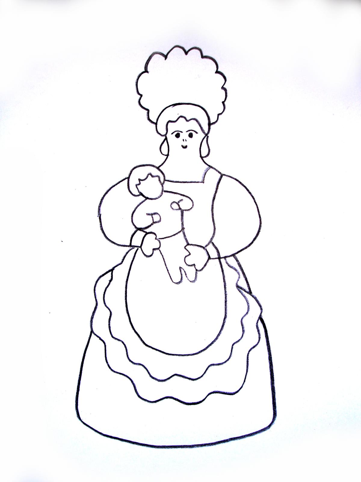 Петух раскраски для детей