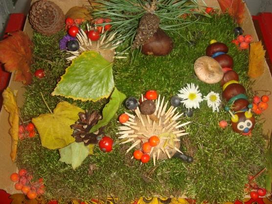 Осенние композиции в садик