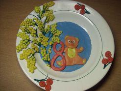Поделки из пластилина на тарелки 72