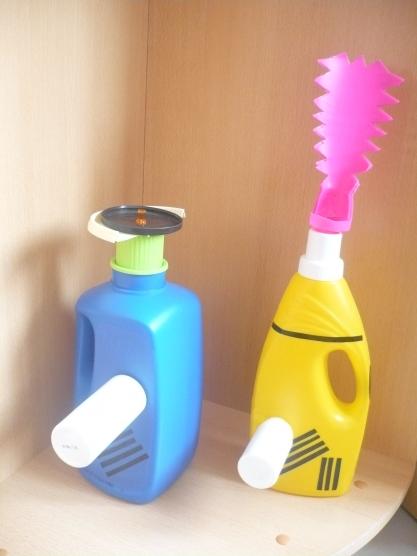 Поделки из бутылок моющих средств 20