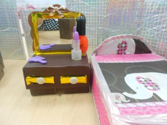 Мебель для кукол из подручных материалов быстро