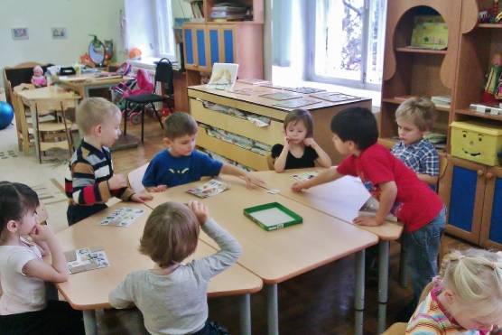 Будни детского сада
