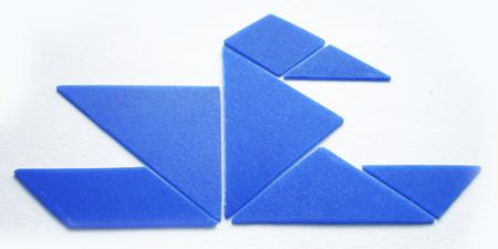 Геометрическая головоломка— Танграм