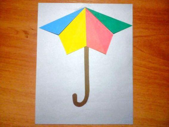 конспект занятия поделки оригами
