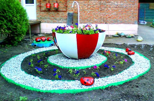 Дизайн садов участков