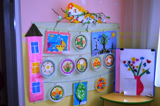 Детские работы в детском саду