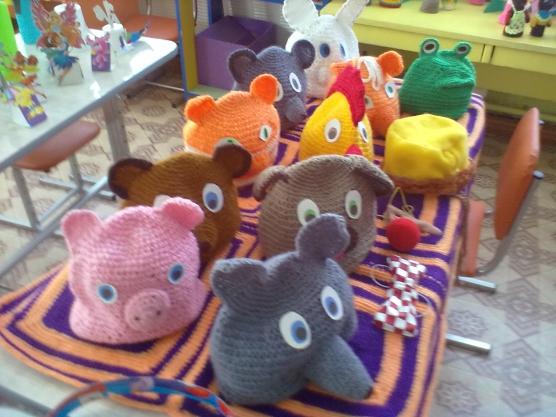 Шапочки для театр своими руками в детском саду