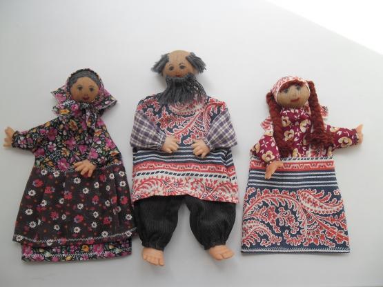 Для создания игровых кукол дошкольный