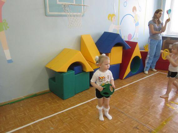 Гимнастика в детском саду - скачать игровые комплексы (Железновы) .