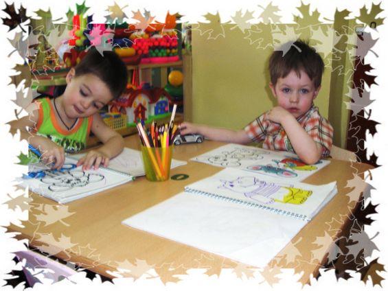 конспект занятия рисование знакомство с красками