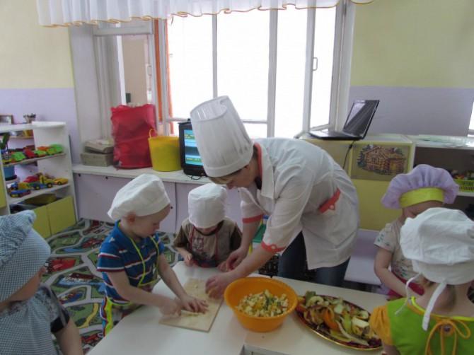 Знакомство с профессией повар вторая младшая группа