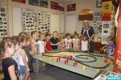 Историю местного локомотивного депо изучали тимашевские дошкольники