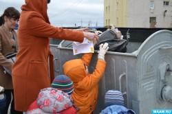 Против мусора выступил новоуренгойский детский сад