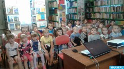 В библиотеке отметил день рождения области кагальницкий детский сад