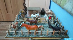 Макет Алааса знакомит дошкольников города Мирного с жизненным укладом якутов