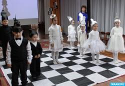Соревнования в Шахматном королевстве провели в феодосийском детском саду