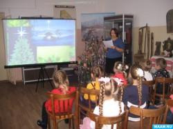 Все о новогодних традициях узнали в музее умётские дошкольники