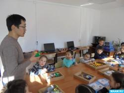 Курумканские дошкольники познакомились с робототехникой