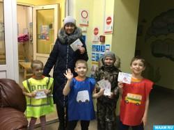 Новосибирские дошколята призвали земляков к аккуратному поведению на дорогах