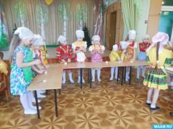 Праздник птиц отметили в кагальницком детском саду