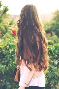Девочка спиной на аву