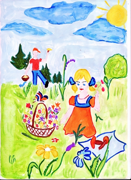 Конкурс рисунков какого цвета лето