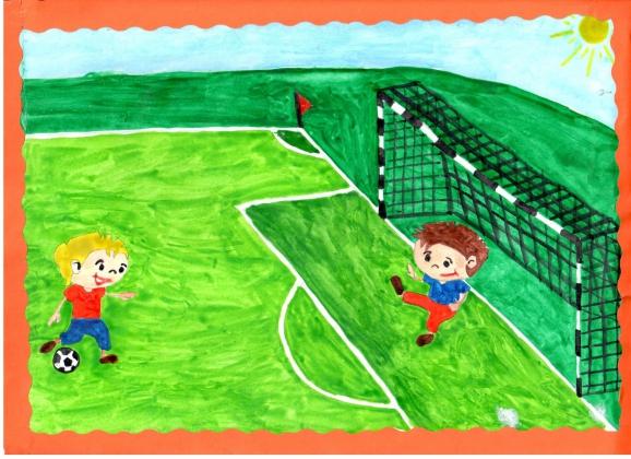 Наташе картинки, рисунок на тему я люблю спорт
