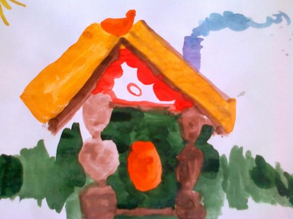 сказочные домики рисование старшая группа фото комментариях девочки