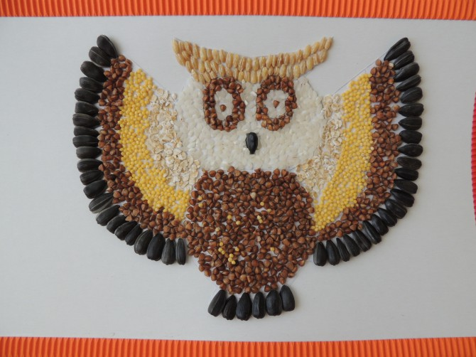Поделка сова с описанием 107