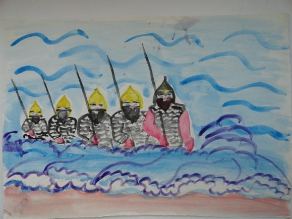 Картинки тридцать три богатыря для срисовки