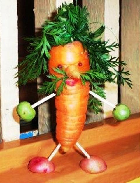 ароматом фото осенние поделки из моркови белый слой