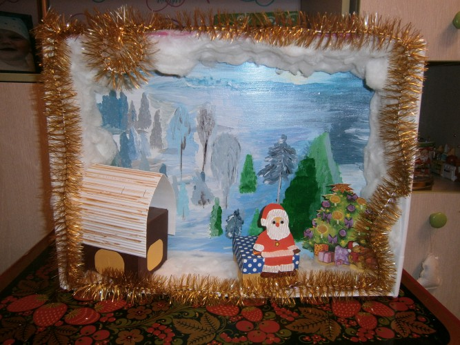 Зимняя сказка фото поделки 55