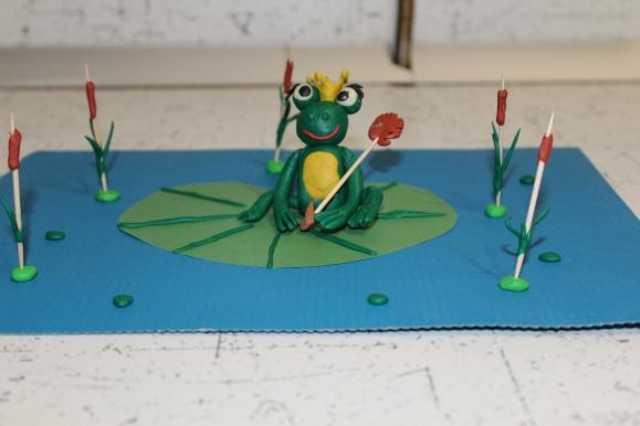 лягушка царевна из пластилина картинки обои рабочий