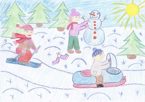 Рисунки к проекту зима