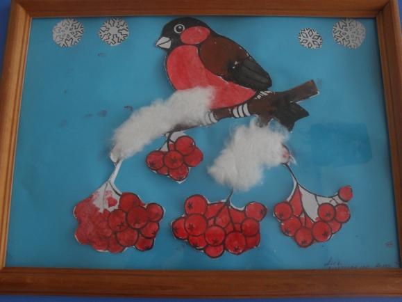 Поделка птицы зимующие 47